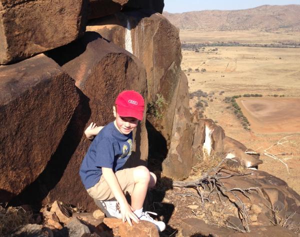 Climbing the Koppie