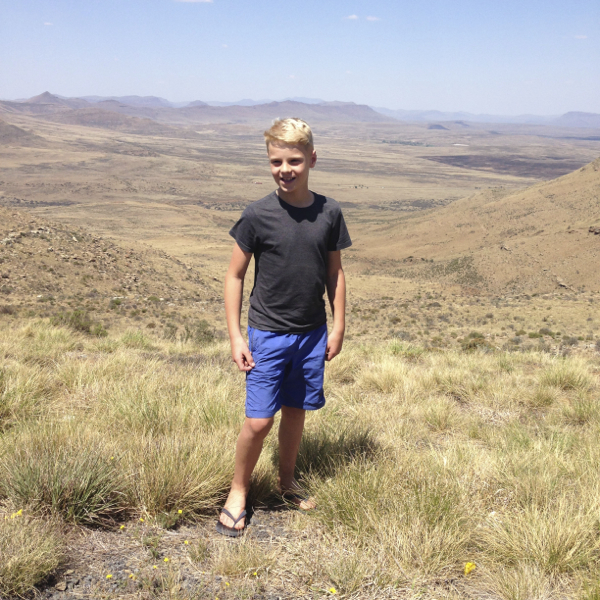 Tommy on the Lootsberg Pass