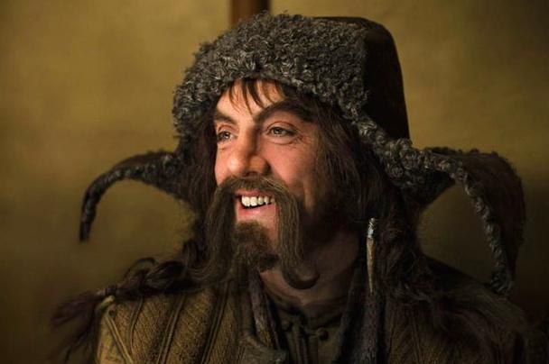 James Nesbitt as a dwarf in The Hobbit