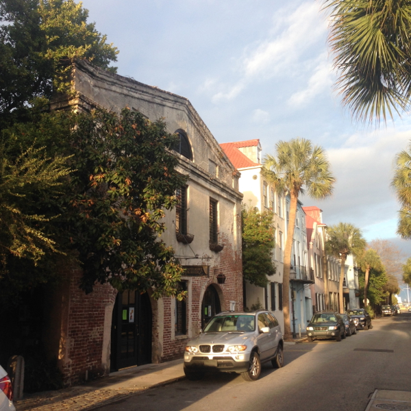Typical architecture in Charleston