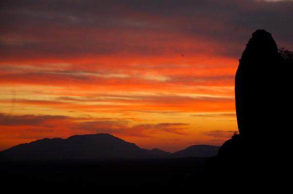 Sunset at Erongo