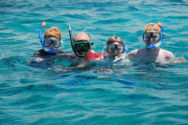 Plenty of snorkeling