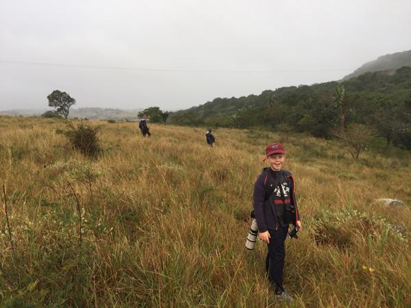 Completely wet at Amatikulu