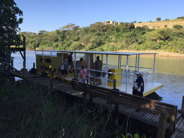 The Five Star Barge on the Umlalazi River
