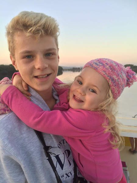 Tommy and Emma