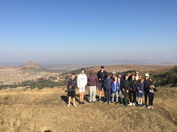 View of the horsemen down to Isandlwana
