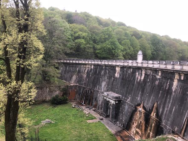 A small dam in the Belgrad Forest