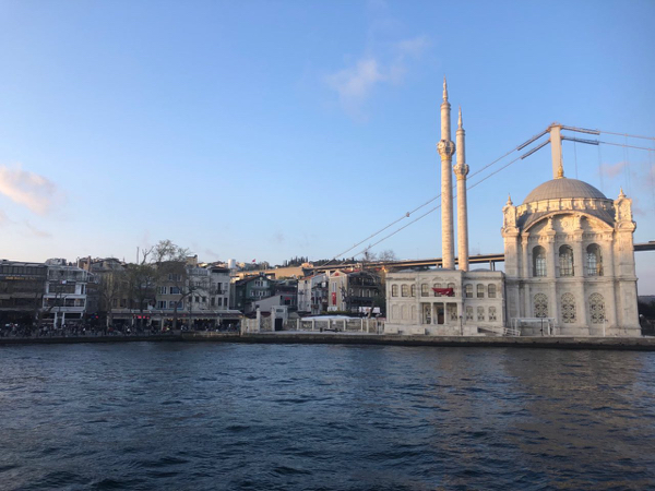 Mosque on the water's edge