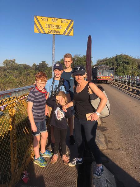 On the bridge between Zim and Zambia