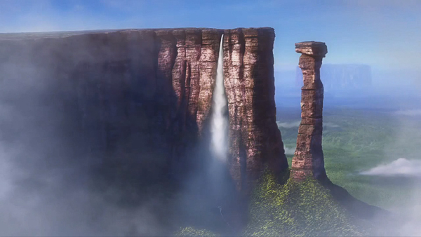 """Paradise Falls from """"Up"""""""