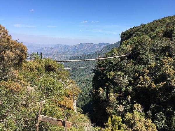 The lower suspension bridge