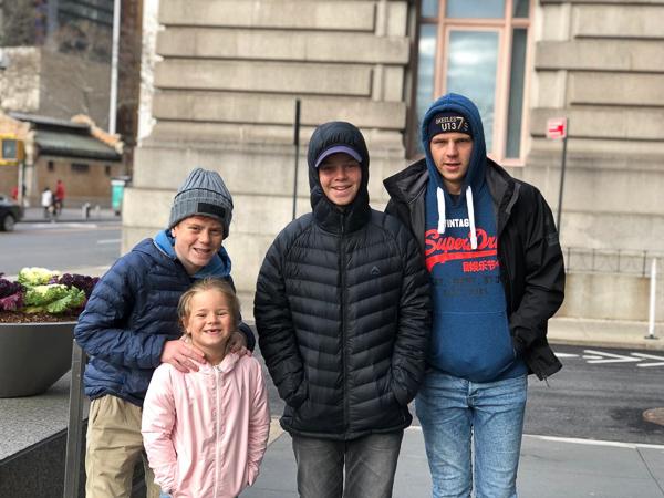 The kids on Wall Street