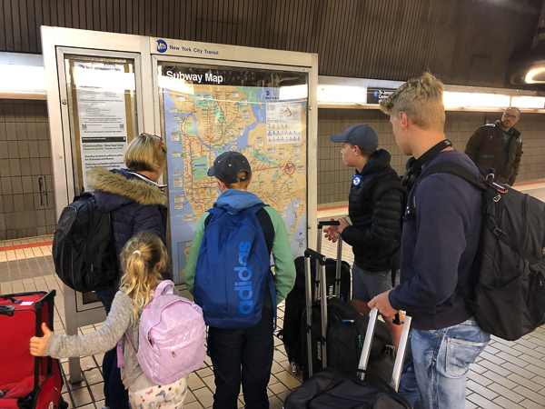Studying the metro map